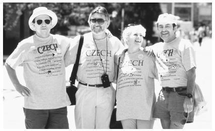 Czechs Czech Americans History Modern era The first czechs in america