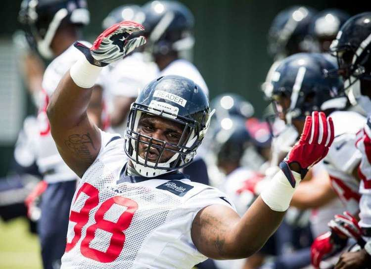 D. J. Reader Texans39 DJ Reader A rookie39s tale of loss grief and football
