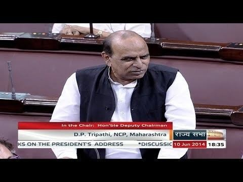 D. P. Tripathi D P Tripathis speech in the Motion of Thanks on Presidents Address