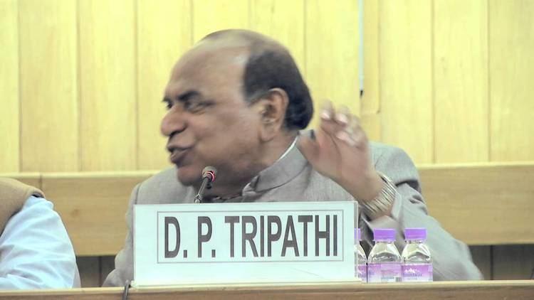 D. P. Tripathi D P Tripathi YouTube