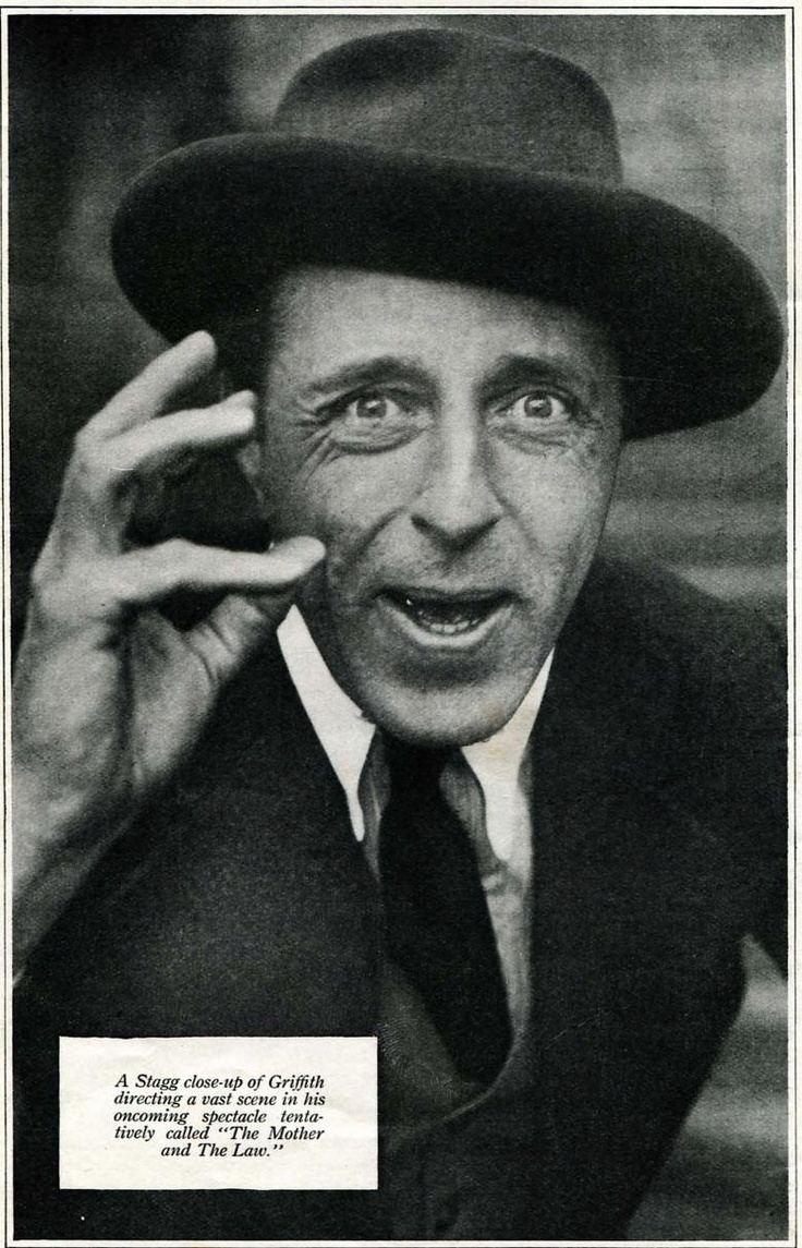 D. W. Griffith DW Griffith David Wark Griffith Pinterest