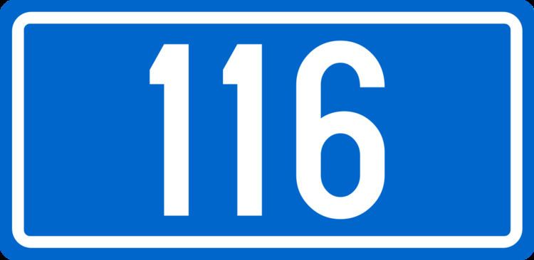 D116 road (Croatia)
