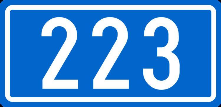 D223 road (Croatia)