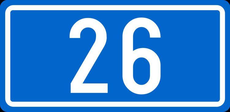 D26 road (Croatia)