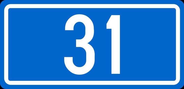 D31 road (Croatia)