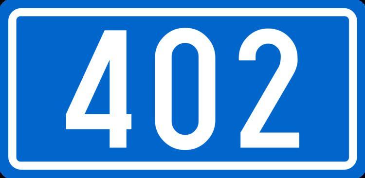 D402 road (Croatia)