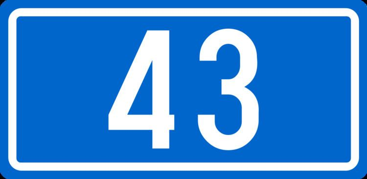 D43 road (Croatia)