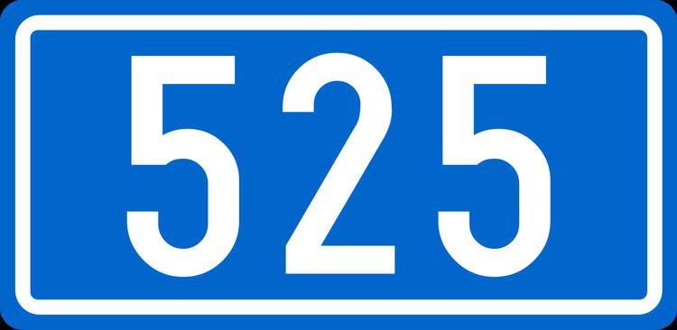 D525 road (Croatia)
