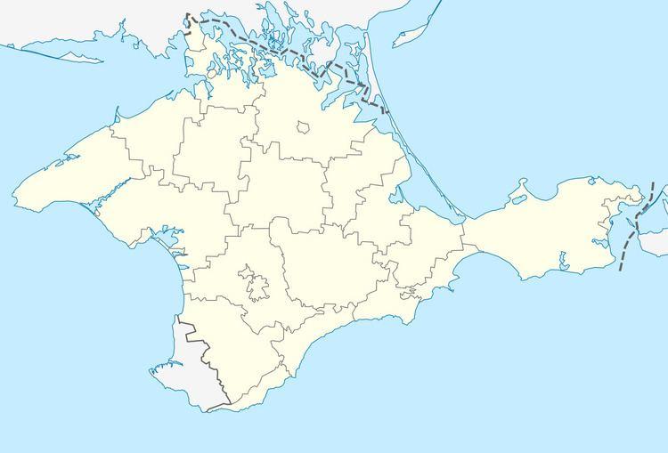 Dachne, Sudak Municipality