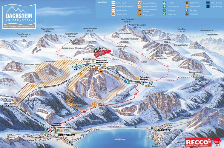 Dachstein glacier Dachstein Glacier Ski Resort Guide Location Map amp Dachstein Glacier