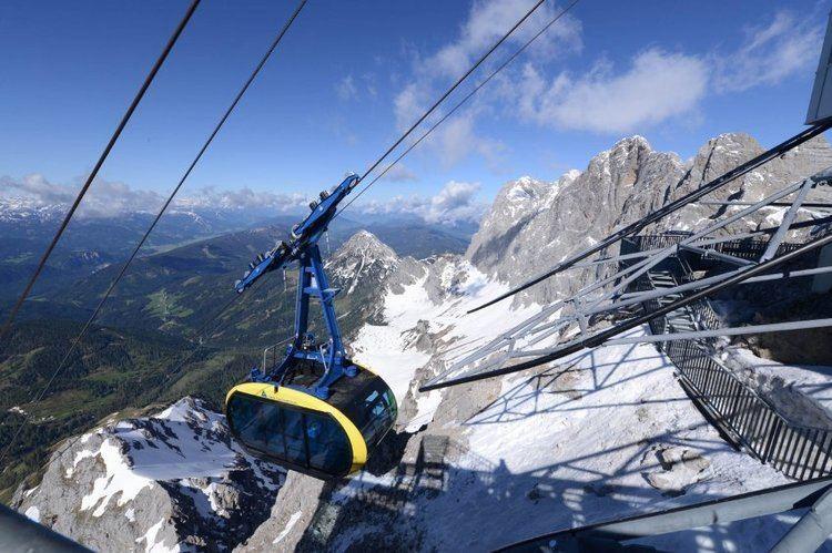 Dachstein glacier Travelettes Dachstein Glacier bridge Austria