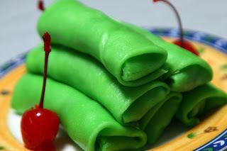 Dadar gulung Indonesia Secret Kitchen Dadar Gulung recipe