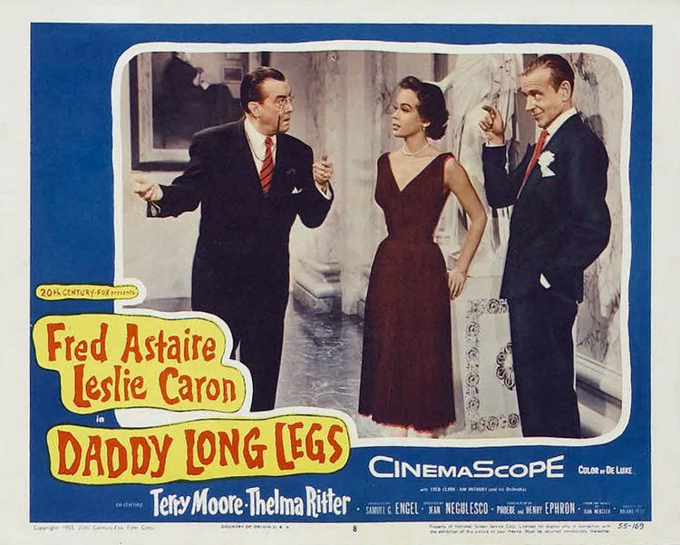 Daddy Long Legs (1955 film) Daddy Long Legs 1955