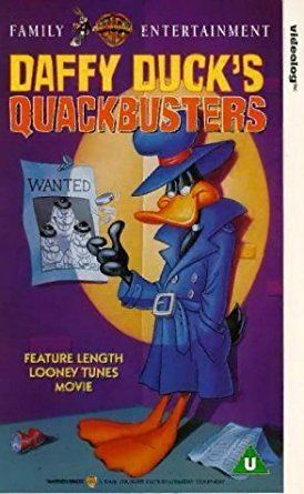 Daffy Duck's Quackbusters Daffy Duck Daffy Ducks Quackbusters VHS Mel Blanc Mel Torm