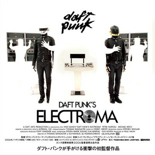 Daft Punk's Electroma Daft Punks Electroma Fonts In Use