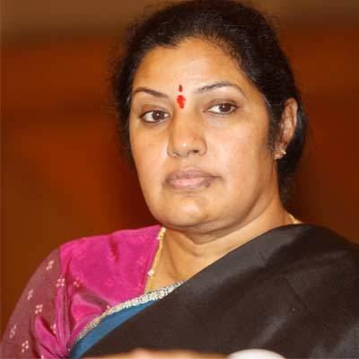 Daggubati Purandeswari Pranab Mukherjee accepts resignation of Minister of State