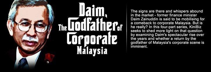 Daim Zainuddin On Daim ZainuddinThe Silent One Din Merican the Malaysian DJ Blogger