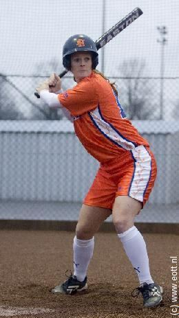 Daisy de Peinder Daisy de Peinder Dutch Women Softball Team