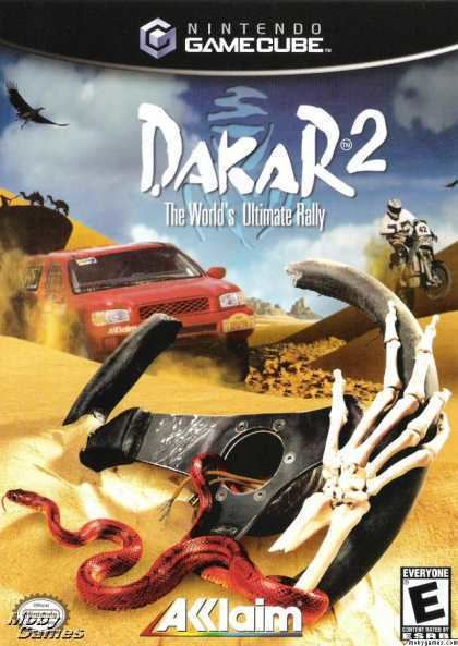 Dakar 2: The World's Ultimate Rally Dakar 2 The Worlds Ultimate Rally ISO lt GCN ISOs Emuparadise