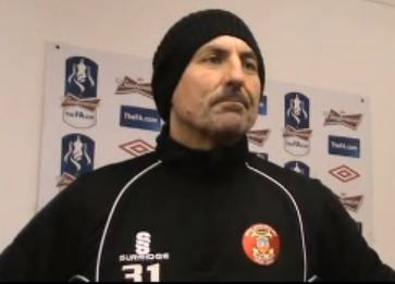 Dale Belford Tamworth boss Dale Belford hopes FA Cup TV tie will boost