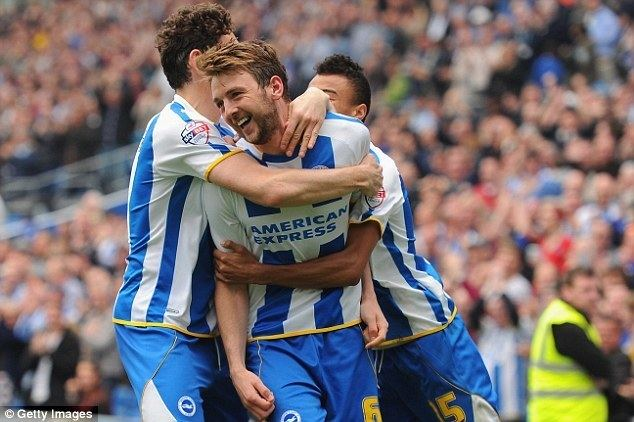Dale Stephens (footballer) Brighton 11 Blackpool Stephen Dobbie cancels out Dale