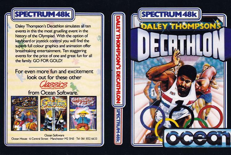 Daley Thompson's Decathlon Daley Thompson39s Decathlon ZX Spectrum Retro Asylum