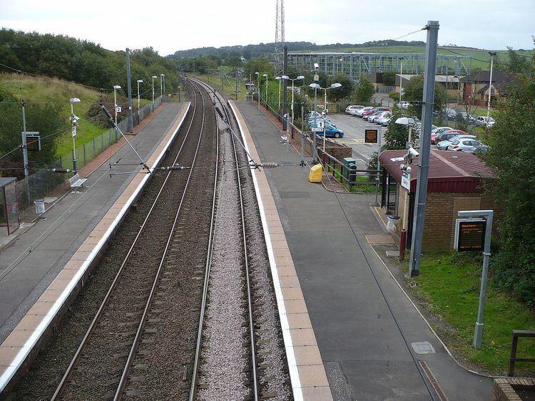 Dalry railway station