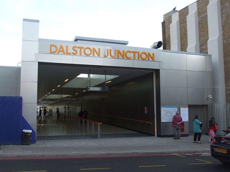 Dalston Junction railway station