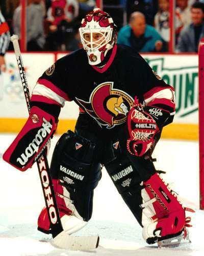 Damian Rhodes 199899 Damian Rhodes Ottawa Senators Game Worn Jersey