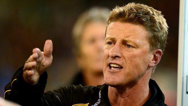 Damien Hardwick Finalsbound Richmond has plenty to prove says coach