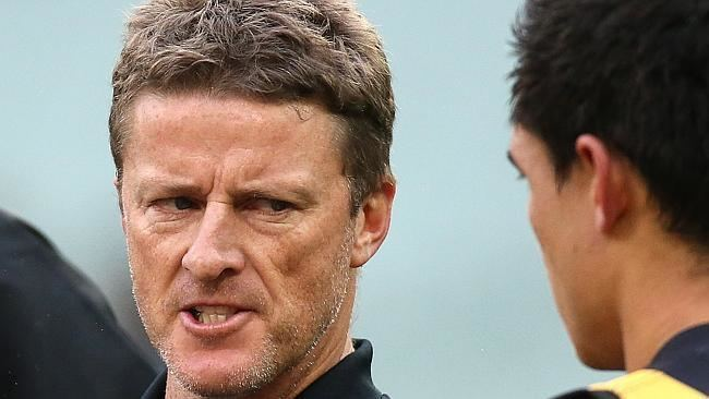 Damien Hardwick Richmond39s Jack Riewoldt looking forward to playing after