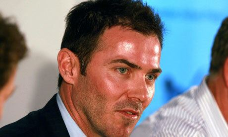 Damien Martyn (Cricketer) playing cricket