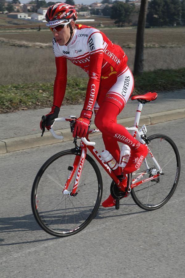 Damien Monier Cofidis rider Monier struck by car while training