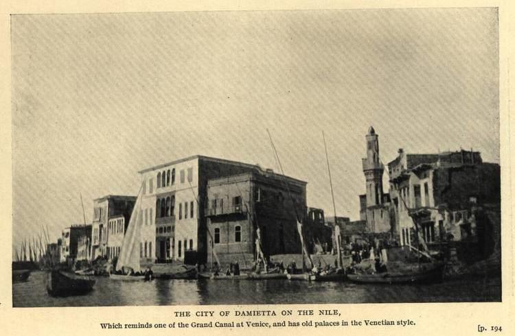 Damietta in the past, History of Damietta