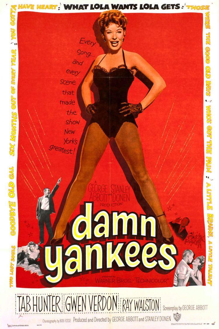 Damn Yankees (film) wwwgstaticcomtvthumbmovieposters36618p36618