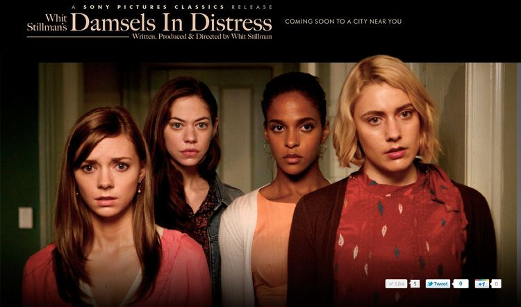 Damsels in Distress Official Damsels in Distress site goes live Whit Stillman