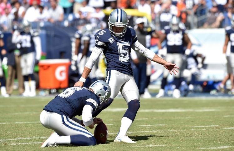 Dan Bailey (American football) Cowboys Dan Bailey Becomes NFL39s Most Accurate Kicker Ever