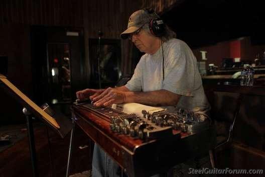 Dan Dugmore PEDAL STEEL GUITAR FRANCE Les Steelers