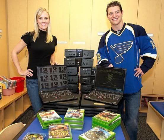 Dan Hinote Hockey Blog In Canada Charitable Donations Hinote39s Heroes