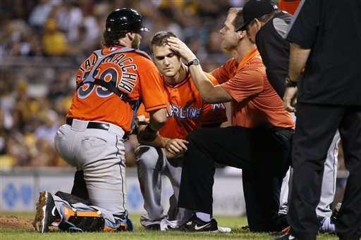 Dan Jennings (pitcher) Marlins pitcher Dan Jennings hospitalized after being hit