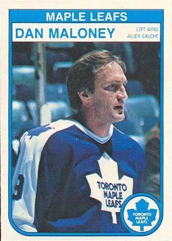 Dan Maloney TheSpicySausagecom Toronto Maple Leafs Dan Maloney