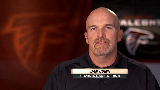 Dan Quinn (American football) NFL Atlanta Falcons We Need To Talk Dan Quinn talks