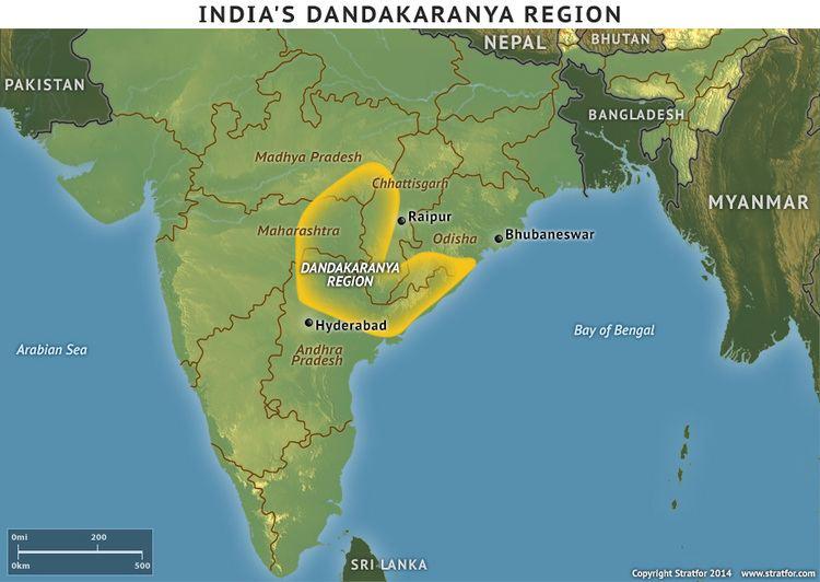 Dandakaranya India39s Dandakaranya Region Stratfor