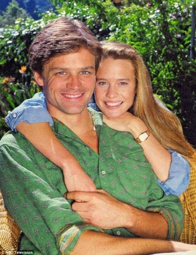 Dane Witherspoon Robin Wright39s first husband and Santa Barbara costar