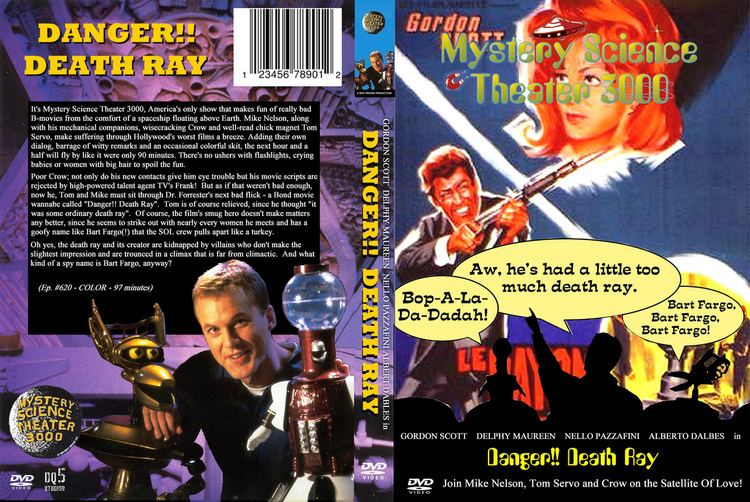 Danger!! Death Ray MST3K DVD Cover Danger Death Ray A cover for a MST DVD Flickr