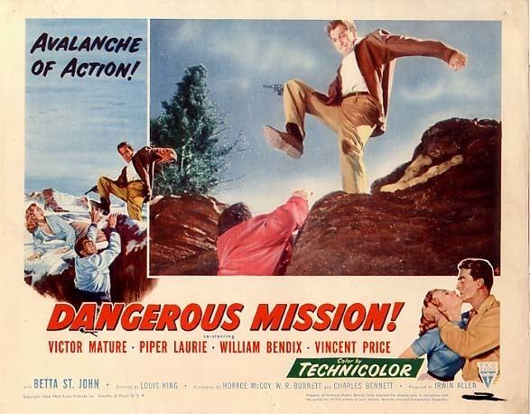Dangerous Mission Lauras Miscellaneous Musings Tonights Movie Dangerous Mission 1954