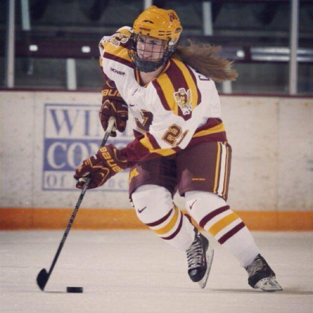 Dani Cameranesi Dani Cameranesi the top prospect in NCAA womens hockey allowhertoplay
