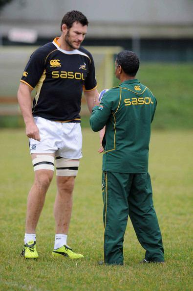 Danie Rossouw Danie Rossouw Photos Springbok Training Session Zimbio