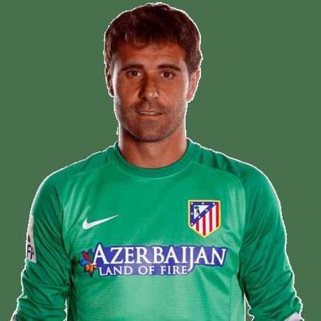 Daniel Aranzubia Club Atltico de Madrid Web oficial