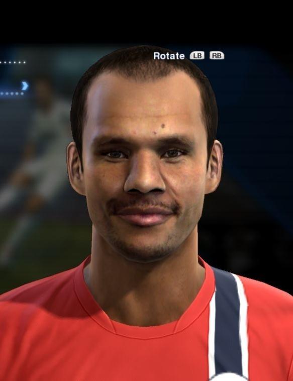 Daniel Braaten Daniel Braaten face for Pro Evolution Soccer PES 2013 made